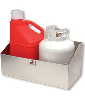 Double Propane/ Fuel Jug Rack - Click Image to Close