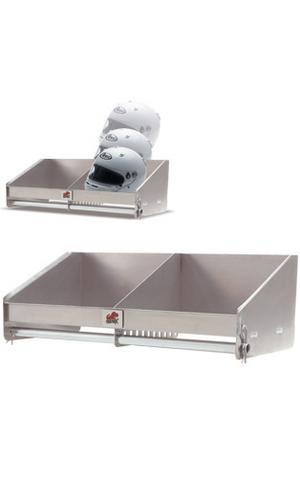 Double Helmet Aluminum Shelf - Click Image to Close